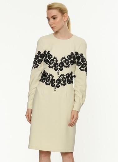 Çiçekli Uzun Kollu Elbise-Jus De Pommes